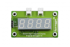 Serial 4 digit 7 segment Display