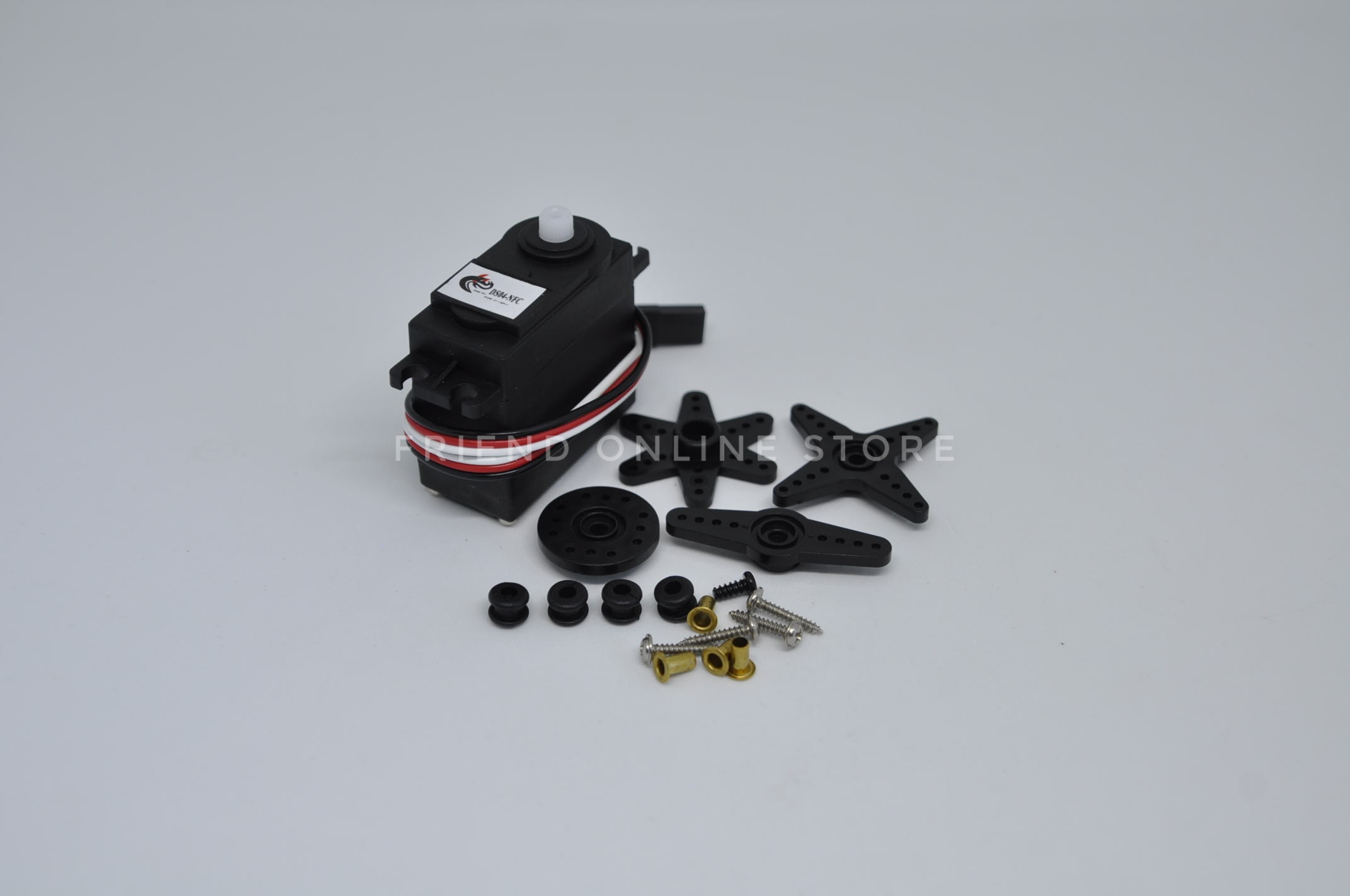 Servo Motor DS04-nfc Continuous Rotation 360? for Arduino/Raspberry  Pi/Robotics