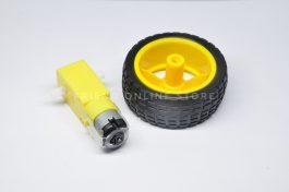 Motor + Wheel (Smart Robot Car Set)