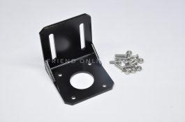 Stepper Motor Mount / Bracket  (Steel Material L Mounting Bracket Fixed Holder Mount with Screw for 42 series Nema17 Stepper Motor)
