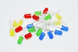 LED 5mm (5 LEDs each in 5 Colours)