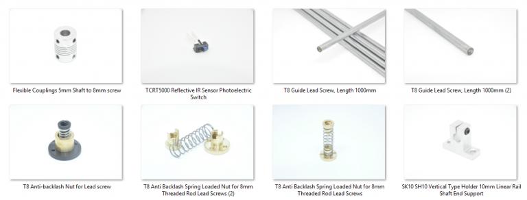 3D Printer, CNC accessories (2)