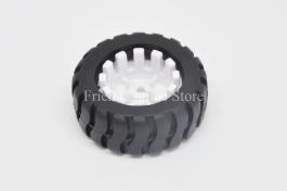 3PI miniQ Car wheel Tyre 42mm for N20 Motor