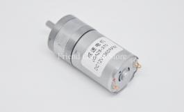 DC Gear Motor 25GA-370 (12V, 1360 RPM)