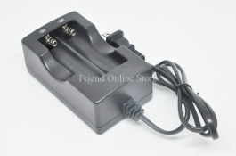 Dual Charger For 18650 14500 16430 Rechargeable Li-Ion Battery US Plug