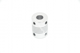 Flexible Couplings 5mm Shaft to 8mm screw (D:19mm, H:25mm)