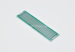 Universal / Prototype / PCB Board 2×8 cm (double-sided)