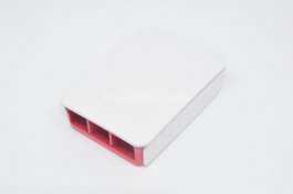 Red+White Raspberry Pi 4B Case ABS Enclosure Box Shell