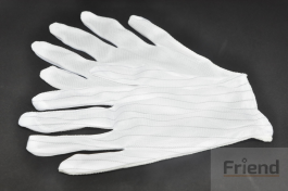 Anti-static ESD Glove with Finger Skid Resistance Spot