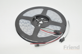 WS2812B SMD LED Strip 60 LED/Meter – Flexible 5M/Roll Waterproof 5V, IP67