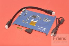 800*480 Resolution 7 inch LCD Capacitive Touch Panel with HDMI interface for Raspberry Pi