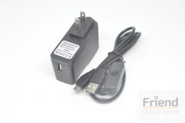 5V 2.5A Micro USB Charger with Switch (US Plug)